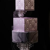 Estrella wedding cake