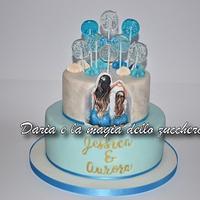 Mother & daughter cake