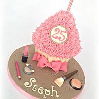 Girly Giant Cupcake