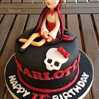 Monster High Cake-Draculaura