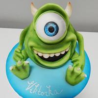 Monsters, inc. Cake