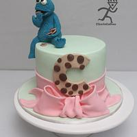 C is for Cookie with Cookie Monster Tutorial by Ciccio