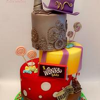 The chocolate factory cake