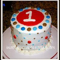 #1 Birthday cake by Jessica Chase Avila