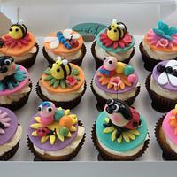 'Bug' cupcakes
