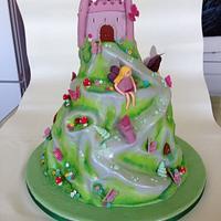 Butterfly fairy castle