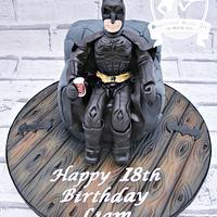 Batman Dark Knight in an armchair!