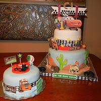 Disney Car-2 Birthday Cake