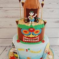 Hawaiian 1st Birthday