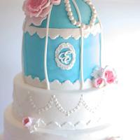 Birdcage cake for a Princess