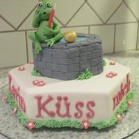 Kiss the frog cake