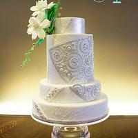 Givenchy inspired fashion cake