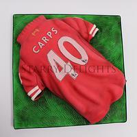 Airbrushed Football Shirt