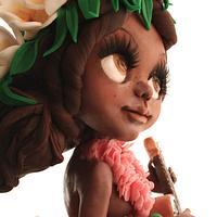 Luha girl- Sugar dolls Around the World colaboration