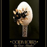 "Golden flowers ""Faberge eggs, 2nd edition"""