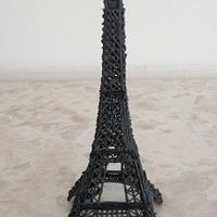Eiffel Tower by Kitti Lightfoot