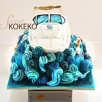 Lupita Yacht Cake