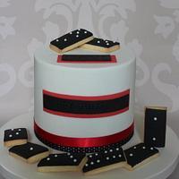 Domino Cake.