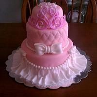 Pagent Cake by Peggy