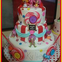 Lala Loopsy Cake