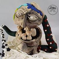 Cakerbuddies Pottery theme Collab : You 'n Me