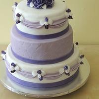 lavender sweet sixteen cake