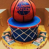 Basketball Goal Cake