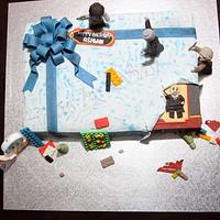 My take on a Lego gift by CakesbySasi