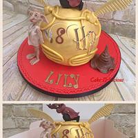 Harry Potter Golden Snitch & Dobby