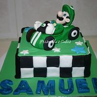 Luigi Cake take 2!