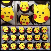 Pokamon cupcakes