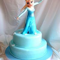 Elsa for my Little Thalia