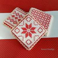 Nordic Needlepoint Cookies