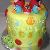 Angry Birds by Cake Boutique Monterrey