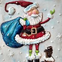 Santa Claus llegó