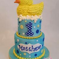 Rubber Ducky First Birthday