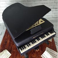 Piano Cake 3D
