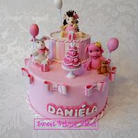 Birth Cake for a wonderful girl.