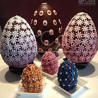 easter eggs by maria antonietta motta - arcake -