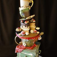 Teapot Standing Cake