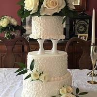 90s wedding recreated