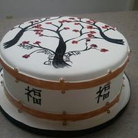 Cherry Blossom fondant