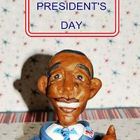 Wishing everyone a Happy president's Day by Maria