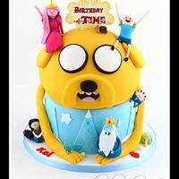 Adventure Time Cake - Birthday Time!