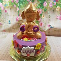 Budda cake.