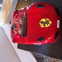 Ferrari Birthday Cake by Dell Khalil