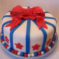 """""""Blue and red cake"""""""