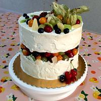 Fault line Diabetic cake