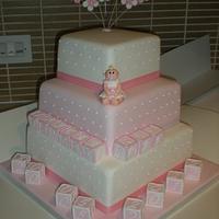 Jaycee Rae's christening cake