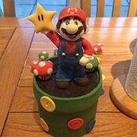 It's A Me! Mario Cake Topper. 😁 xx